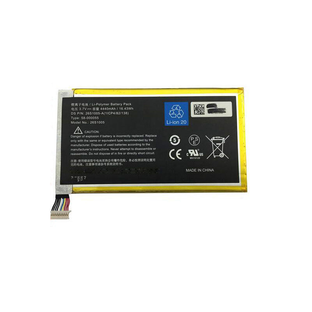 40MAH/40.40WH Amazon Kindle 40S40 Batterie de remplacement ...