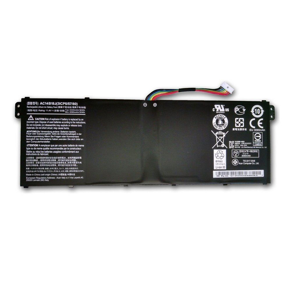 Acer Extensa 2508 2519 TravelMate B115-M B115... battery