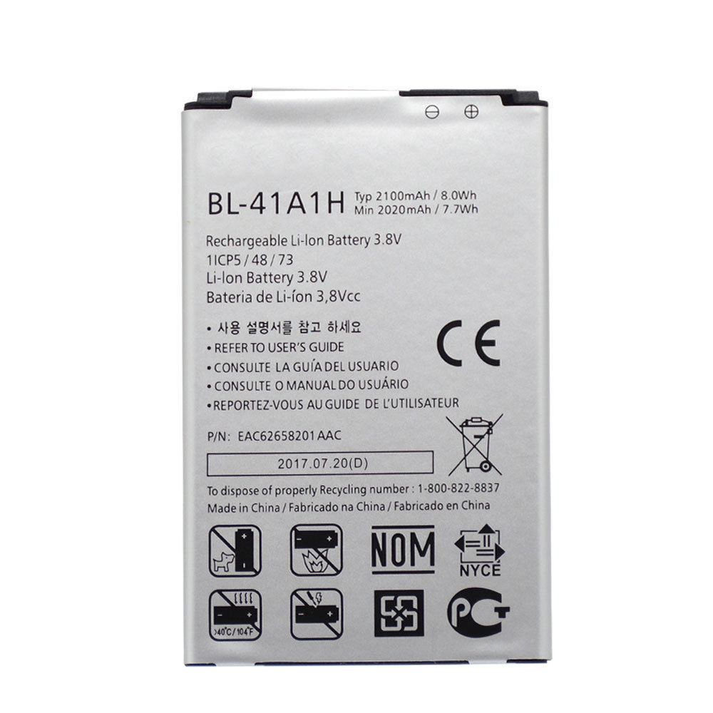LG Optimus F60 MS395 D390N Tribute VS810PP Tr... battery