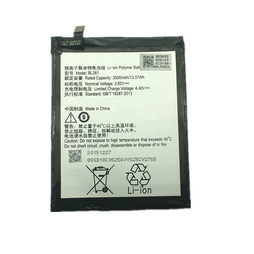Lenovo Vibe A7020 K52t38 K52e78 K5 Note K5Not... battery