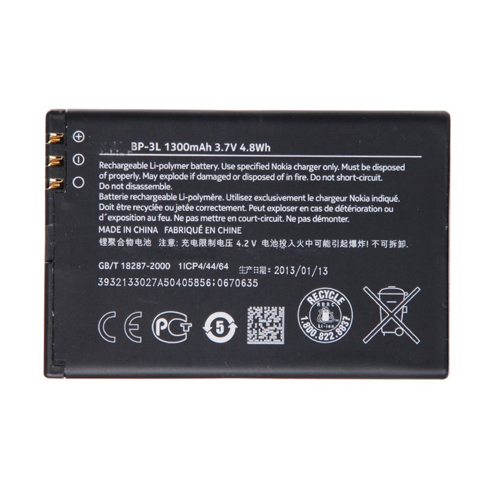 NOKIA BP3L LUMIA 710 T-MOBILE 900 ATT 303 ASH... battery