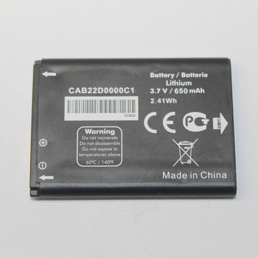 Alcatel CAB22D0000C1 CAB0400000C1  CAB22D0000... battery