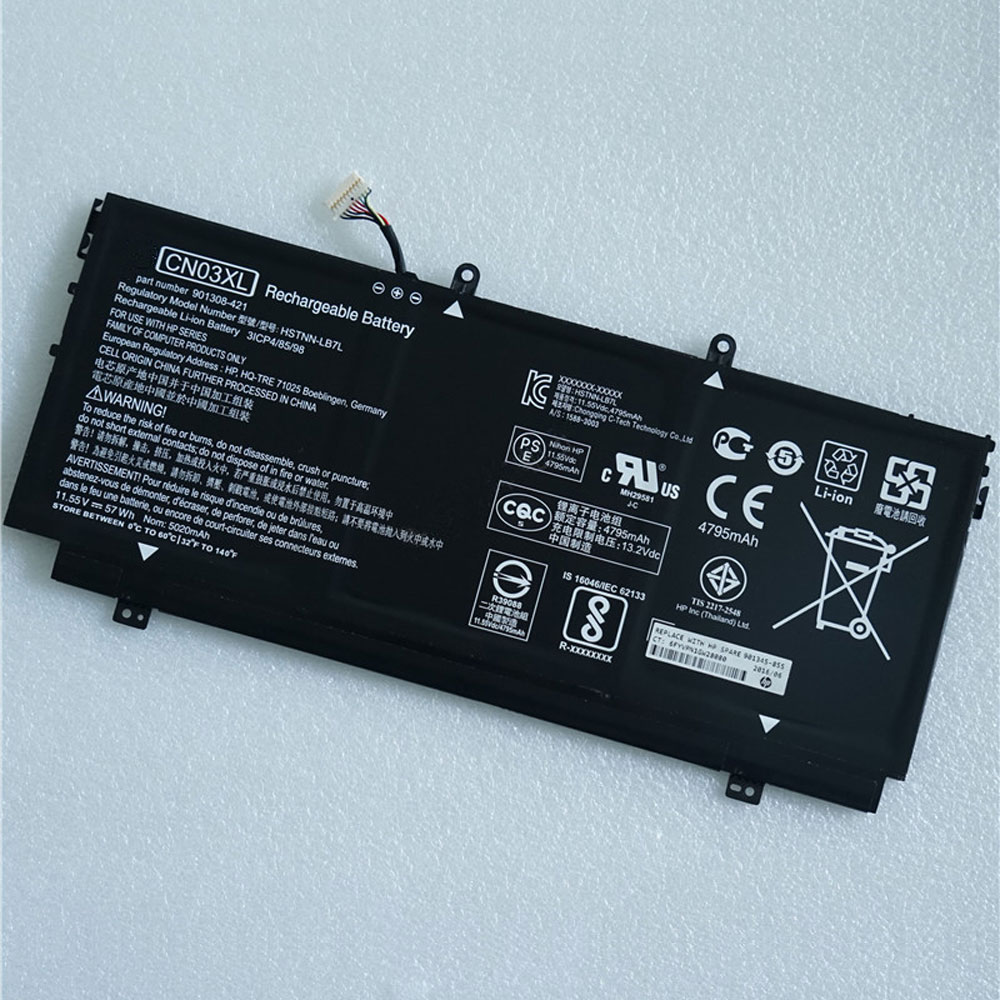 HP 13-AB001 13-AB099 13T-AB000 901308-421 HST... battery