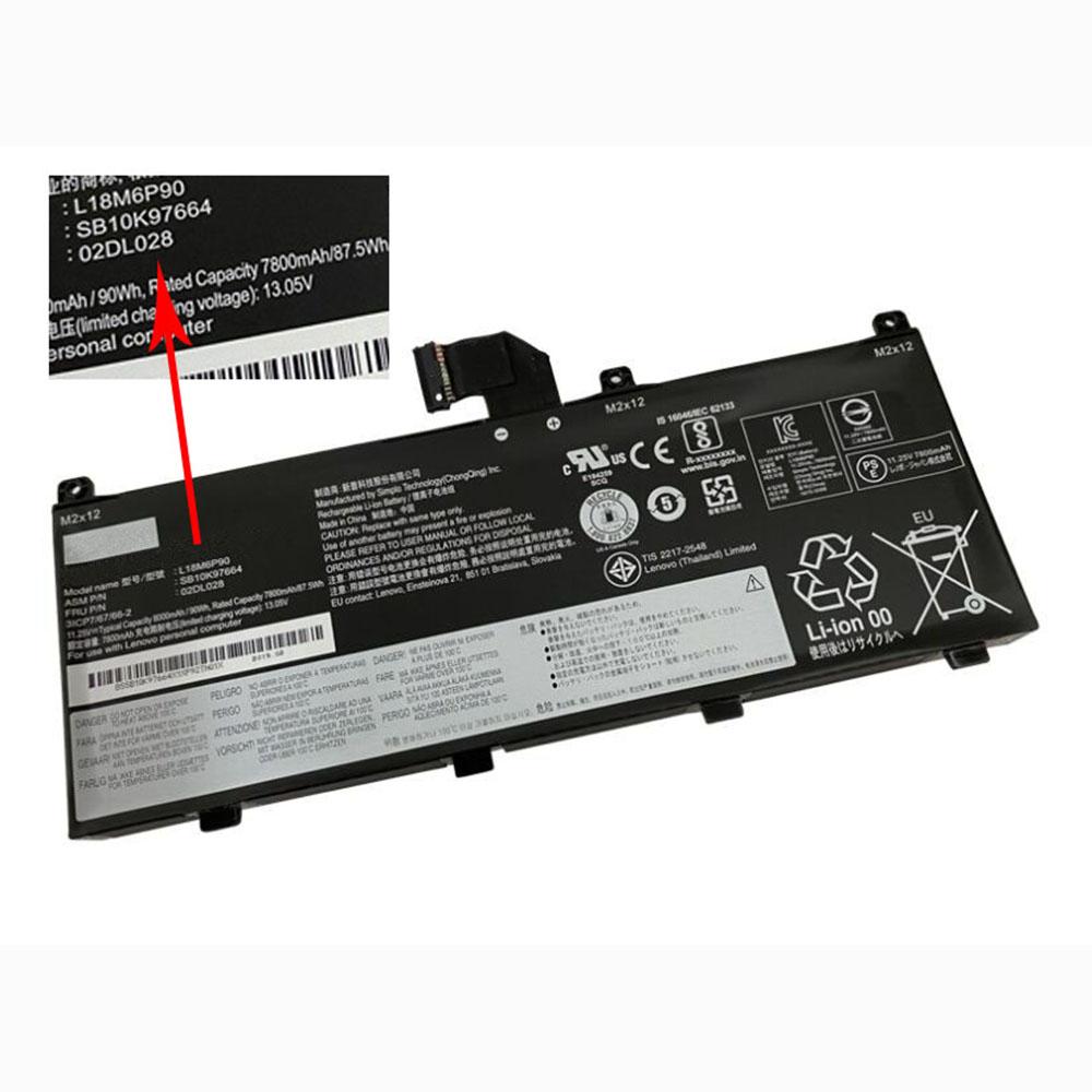 Lenovo ThinkPad P53 battery