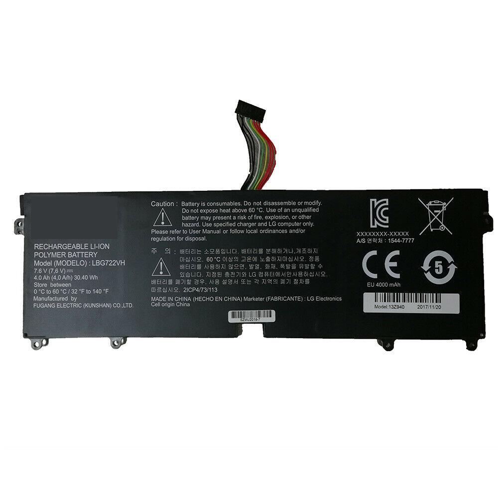 LG Gram 14Z950 13Z940 13ZD940 14Z950-A 13Z940... battery