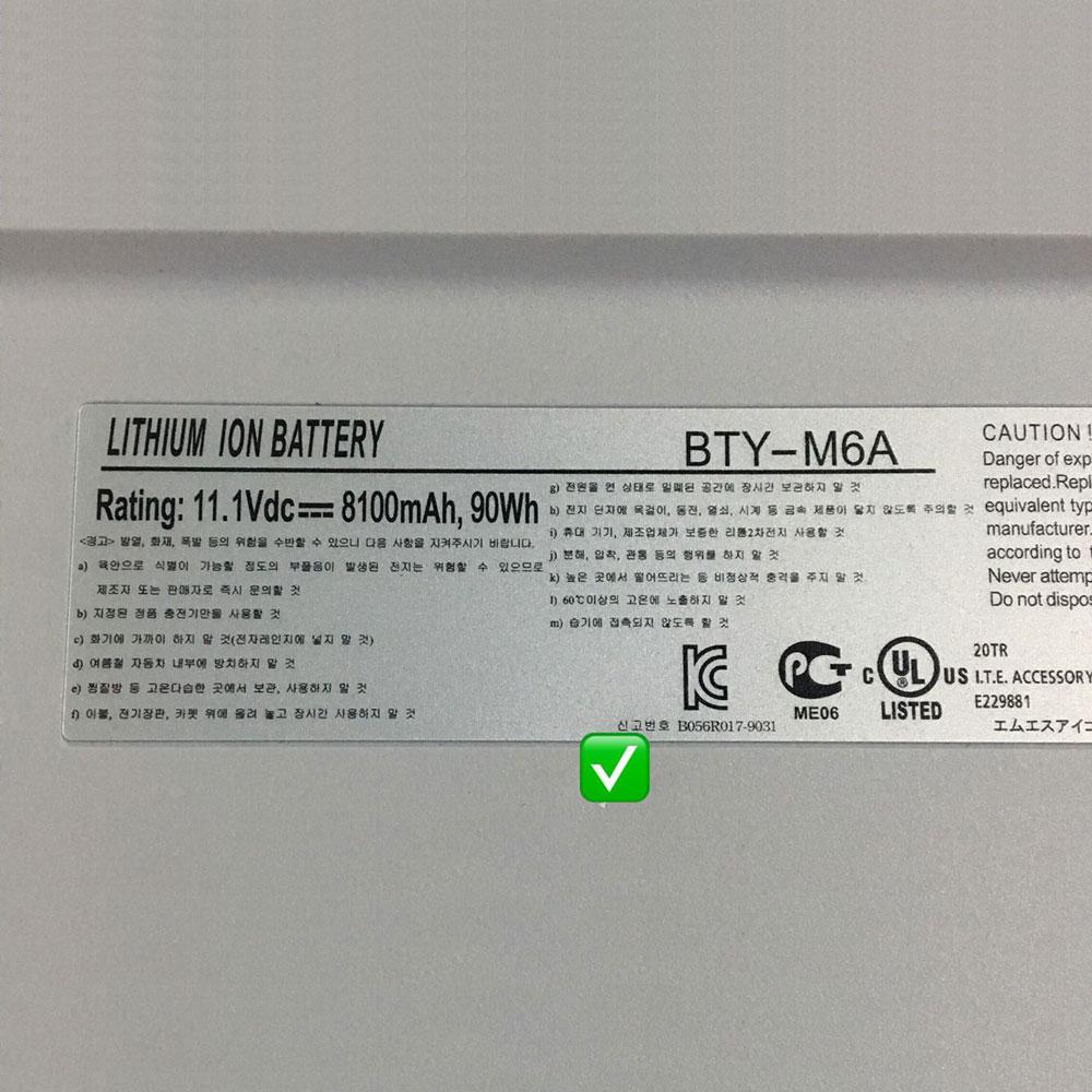 MSI BTY-M6A