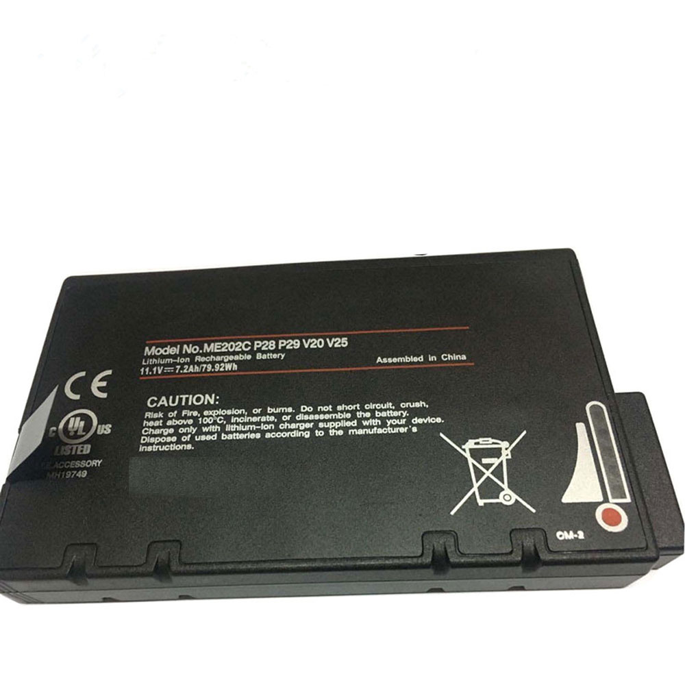 Getac RS2020 S400 V200 ME202EK ME202C 3389111... battery