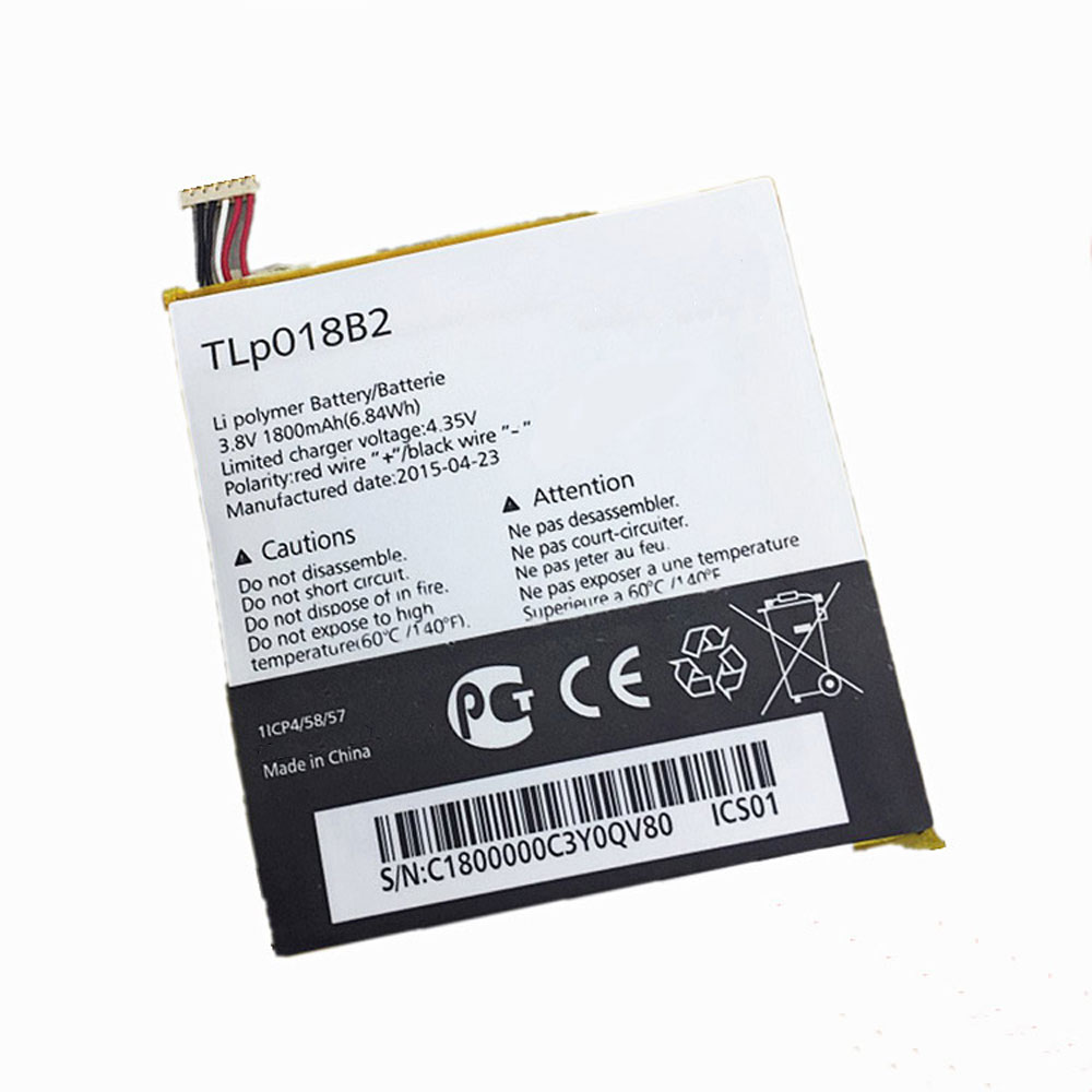 TCL Alcatel One Touch Idol 6030 7024 S820 battery